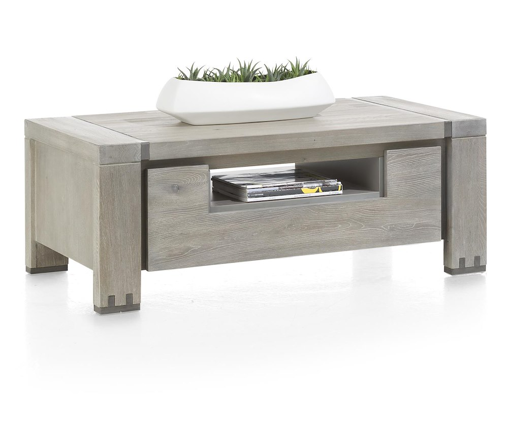 Avola coffee table 120 x 60 cm 2 fall fronts 1 niche for Coffee table 60 x 40