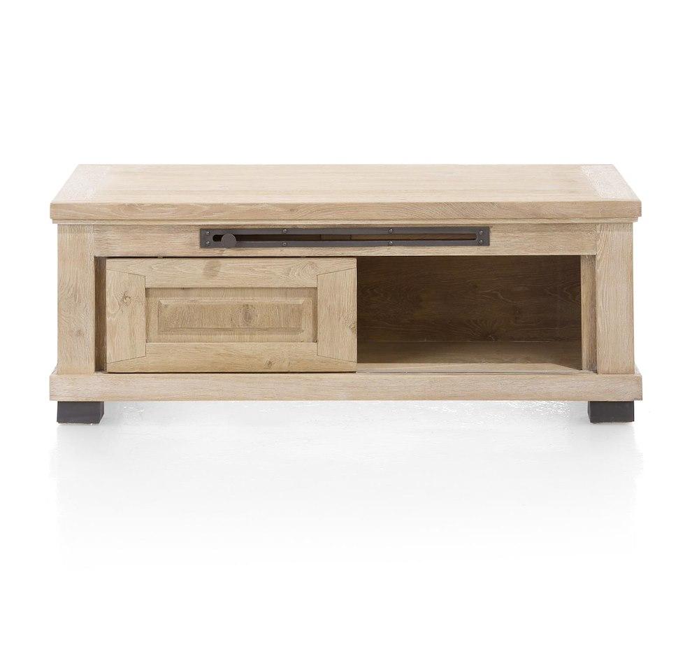 Atelier table basse 120 x 60 cm 2 portes coulissantes for Porte coulissante 60 cm