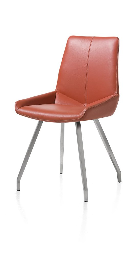 Levi Dining Chair 4 Legs Stainless Steel Curved