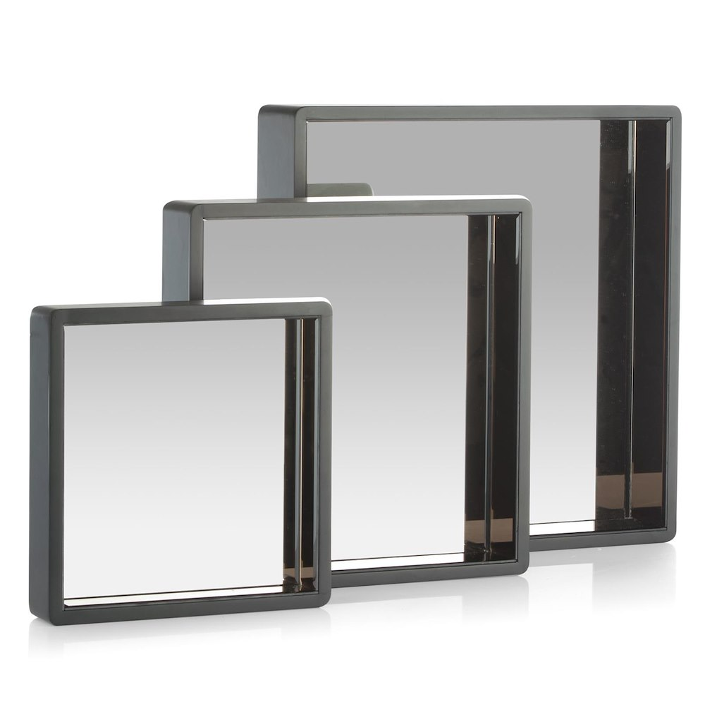 Miror de mur riva 3 parties 30x30 40x40 50x50 cm for Meuble 50x50
