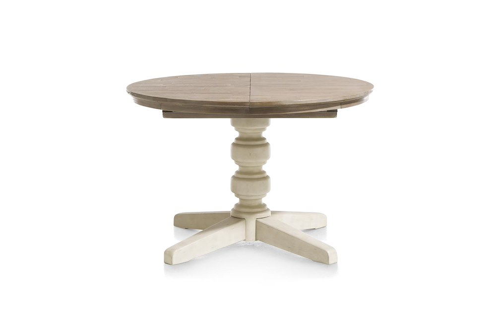 home extendable tables le port extendable dining table round 120 cm