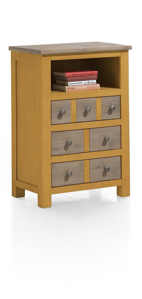 commode en bois le port 84x59 cm. Black Bedroom Furniture Sets. Home Design Ideas