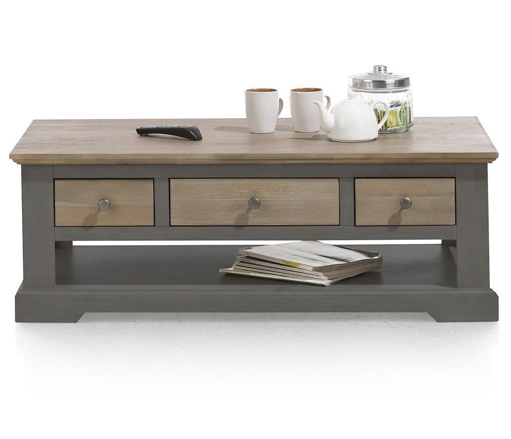 table basse de salon en bois le port 120x60 cm heth. Black Bedroom Furniture Sets. Home Design Ideas