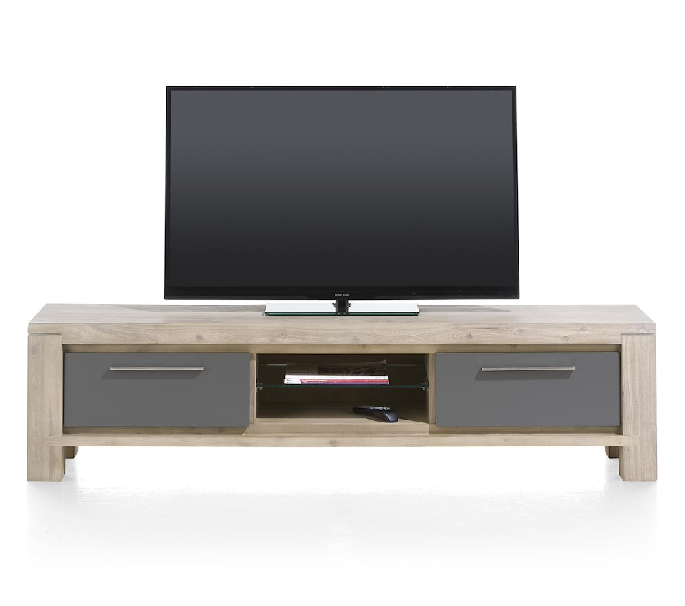 meuble tv multiplus 180x42 cm henders hazel. Black Bedroom Furniture Sets. Home Design Ideas