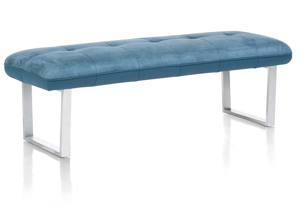 Milva bank sofa without back pocket springs 155 cm for Without back sofa