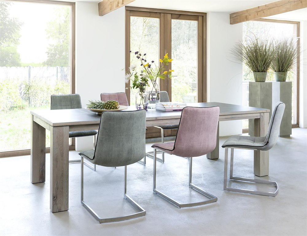 Ermondo table a rallonge 180 50 x 90 cm for Ausziehtisch vintage