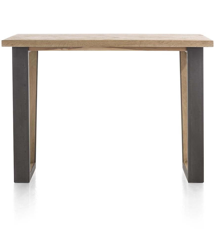 Metalox table de bar 160 x 90 cm hauteur 92 cm for Hauteur d une table a manger