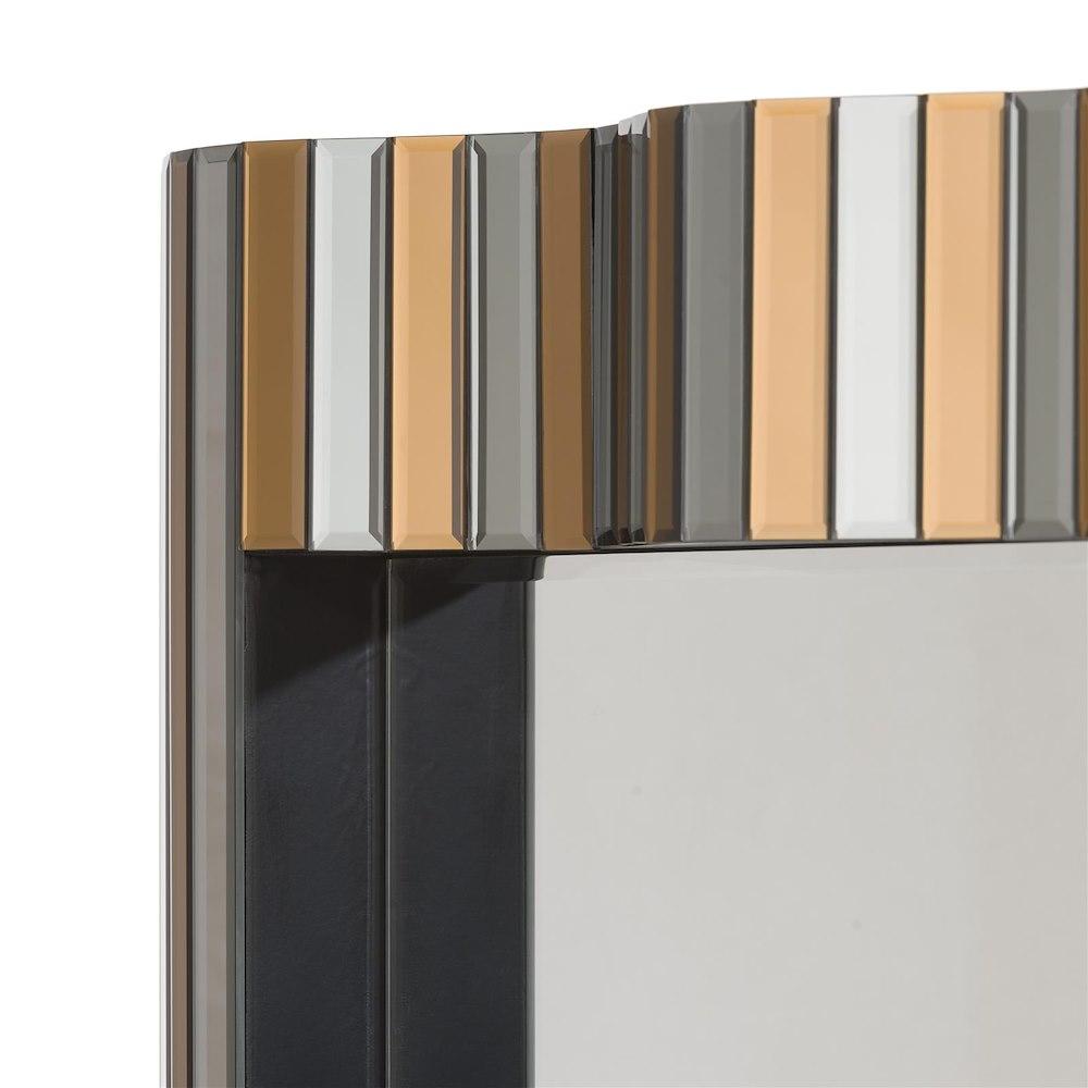 miroir de mur flow 80 x 120 cm. Black Bedroom Furniture Sets. Home Design Ideas