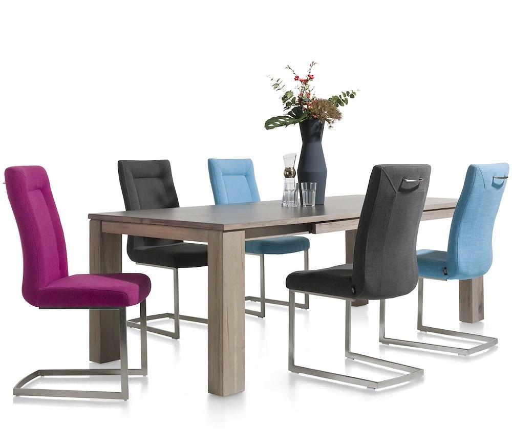 Ermondo table a rallonge 160 50 x 90 cm - Table a rallonge ...