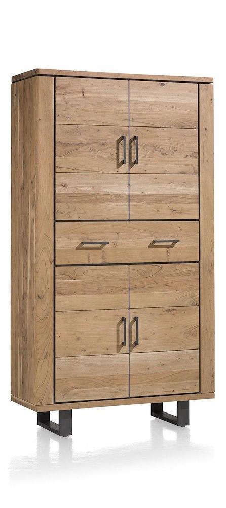quebec armoire 4 portes 1 tiroir 110 cm. Black Bedroom Furniture Sets. Home Design Ideas