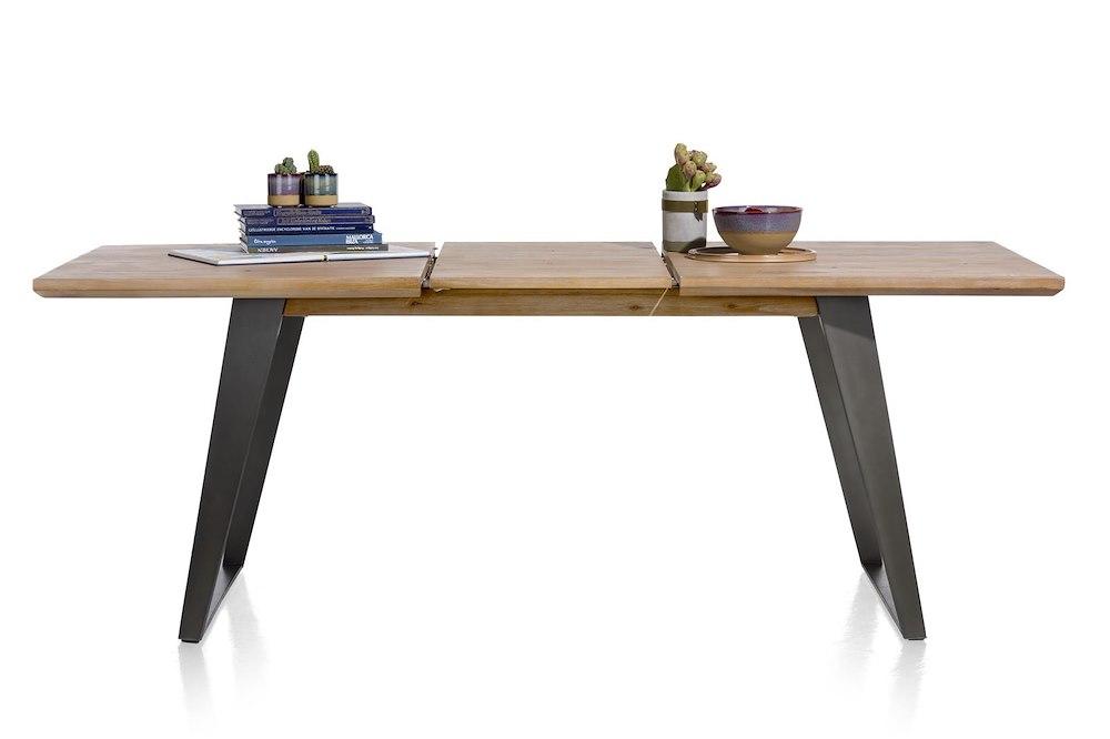 Box table a rallonge 160 50 x 100 cm pied carre - Pied de table 100 cm ...