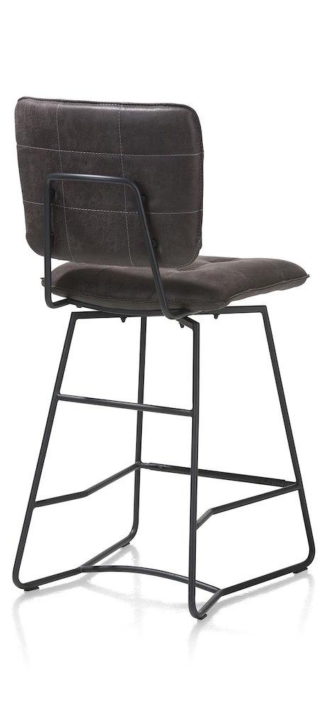 julien chaise de bar cadre noir corsica. Black Bedroom Furniture Sets. Home Design Ideas