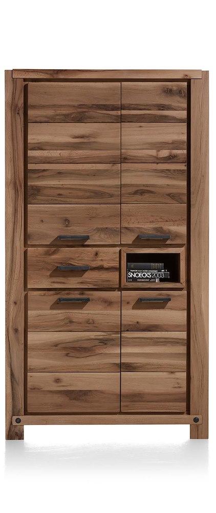 maitre armoire 4 portes 1 tiroir 1 niche 110 cm led spot. Black Bedroom Furniture Sets. Home Design Ideas