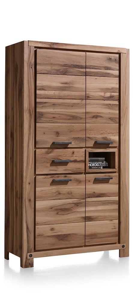 maitre armoire 4 portes 1 tiroir 1 niche 110 cm. Black Bedroom Furniture Sets. Home Design Ideas