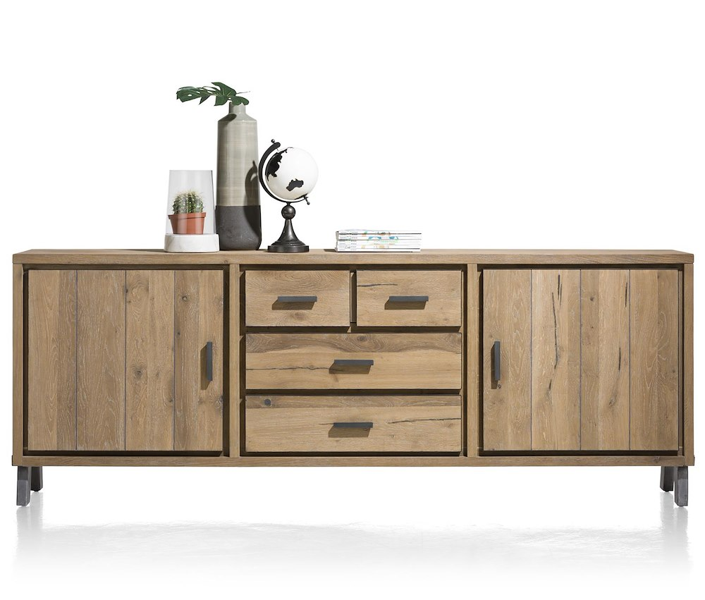 vitoria buffet 2 portes 3 tiroirs 240 cm. Black Bedroom Furniture Sets. Home Design Ideas