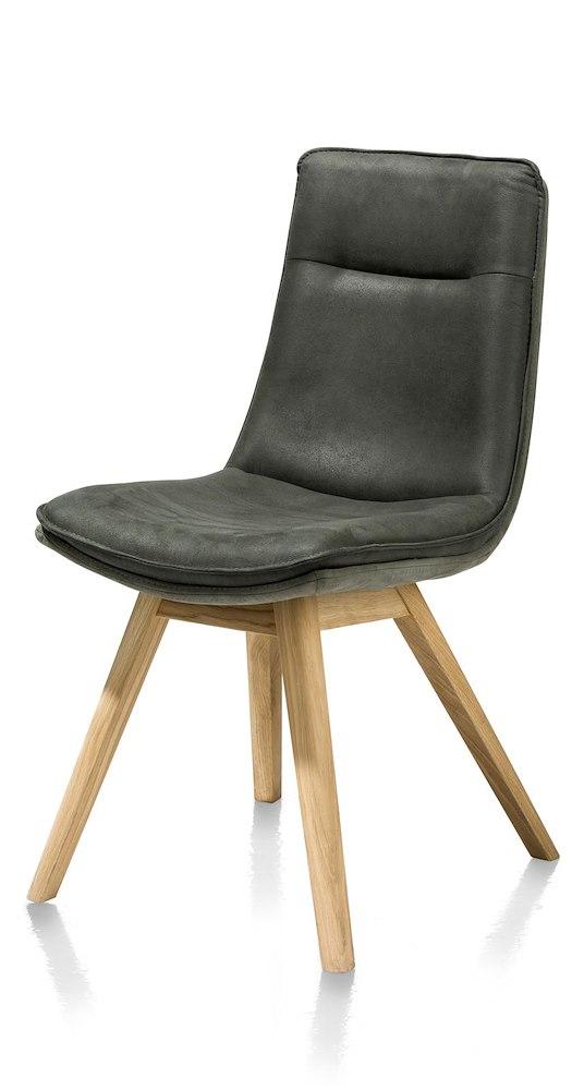 lucia chaise pied chene naturel sans poignee tissu savannah kibo combi. Black Bedroom Furniture Sets. Home Design Ideas