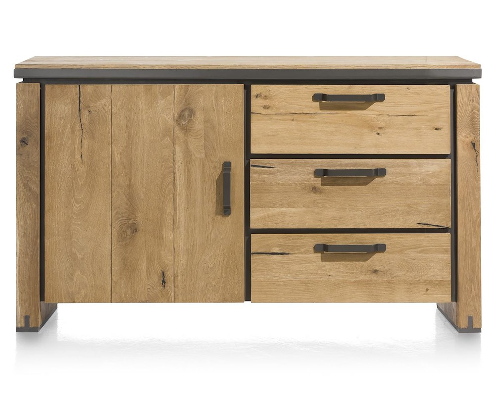 farmland buffet 1 porte 3 tiroirs 150 cm parti basse de 39620. Black Bedroom Furniture Sets. Home Design Ideas