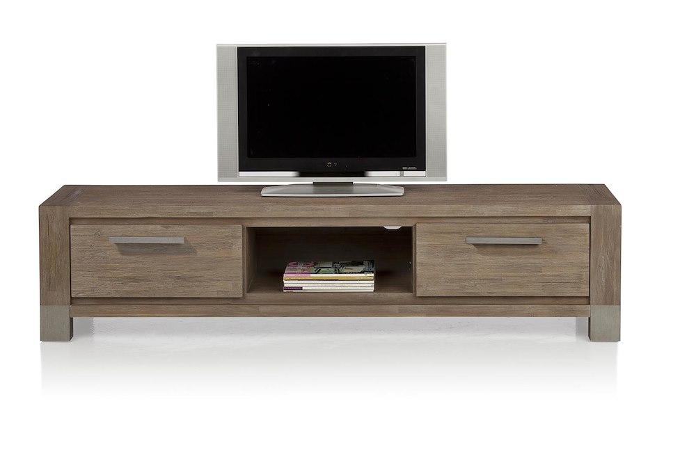 Kodiak tv sideboard 2 drawers 1 niche 190 cm for Sideboard qr