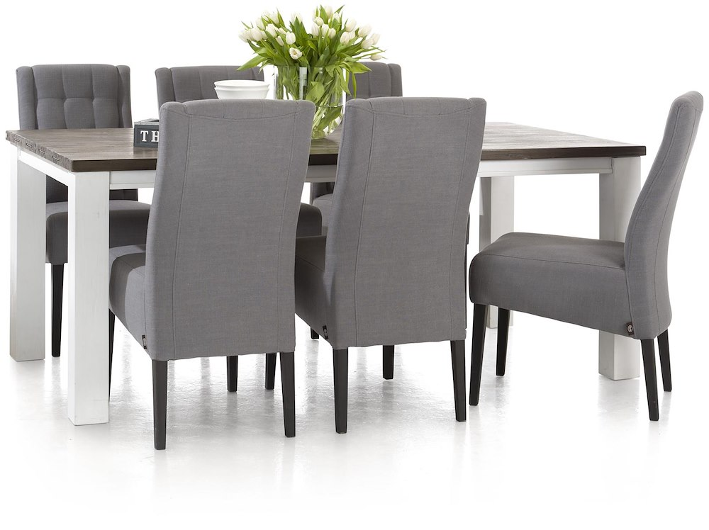 velasco extendable dining table 160 50 x 90 cm