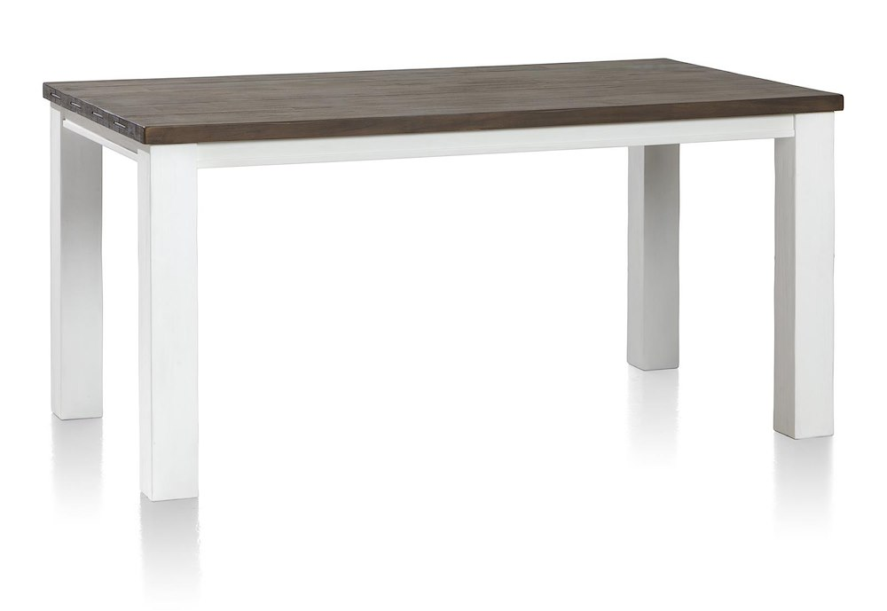 Table rallonge 160 50 x 90 cm velasco heth for Table 160 cm avec rallonge