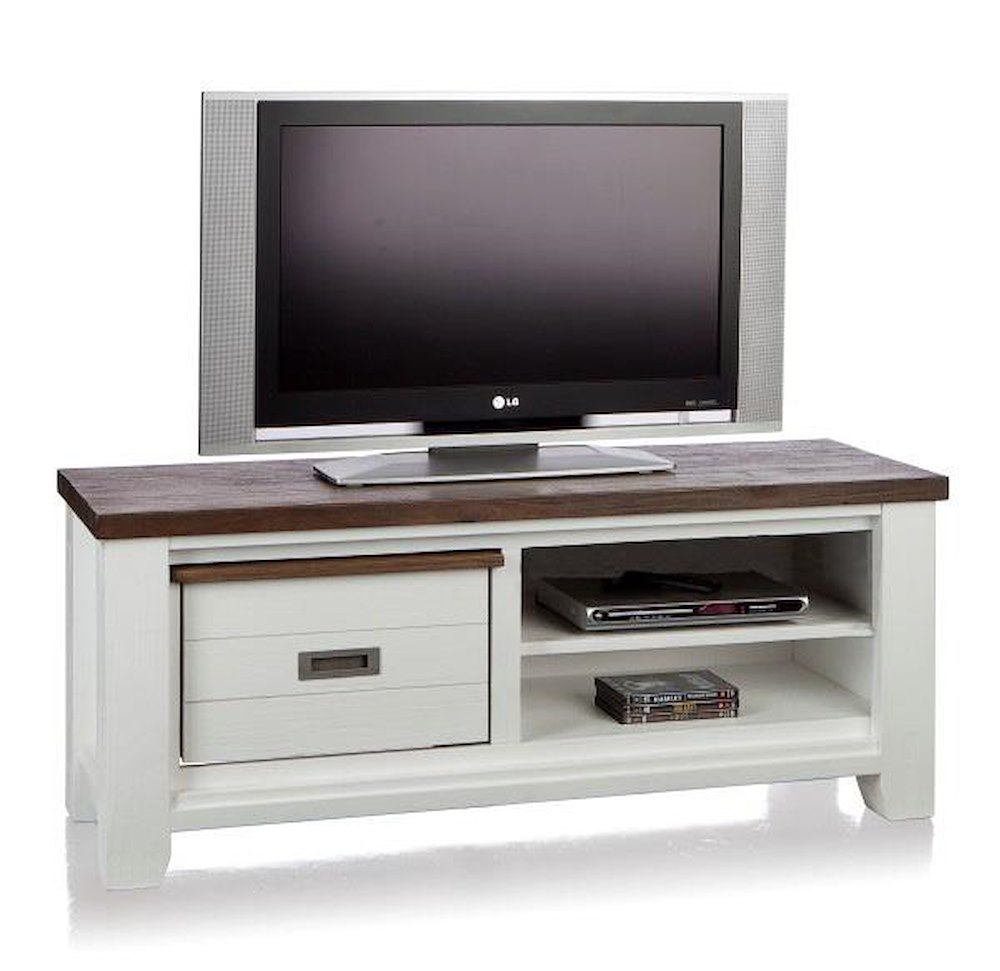 velasco meuble tv 1 corbeille 2 niches 130 cm. Black Bedroom Furniture Sets. Home Design Ideas