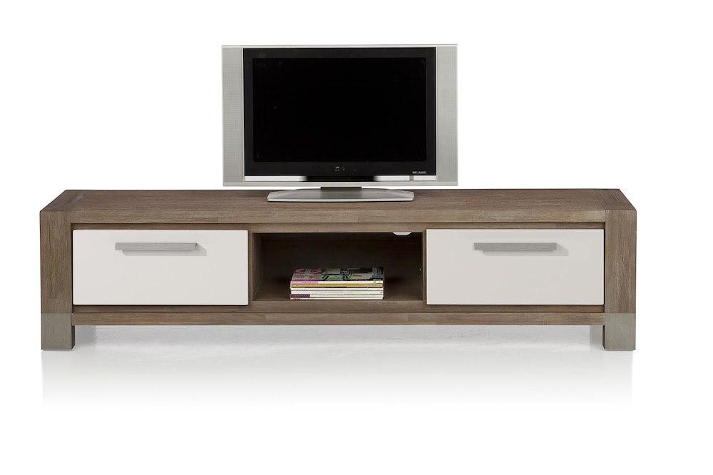 Kodiak tv sideboard 2 drawers 1 niche 190 cm for Sideboard 70 cm