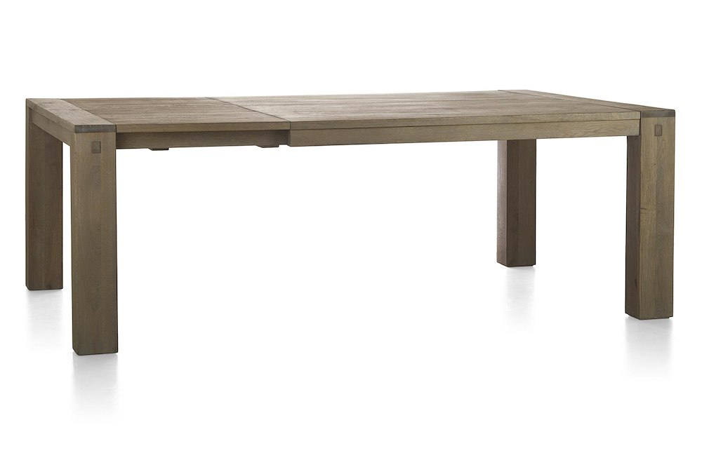 Madison table a rallonge 160 x 140 cm 60cm for Table 160 cm avec rallonge