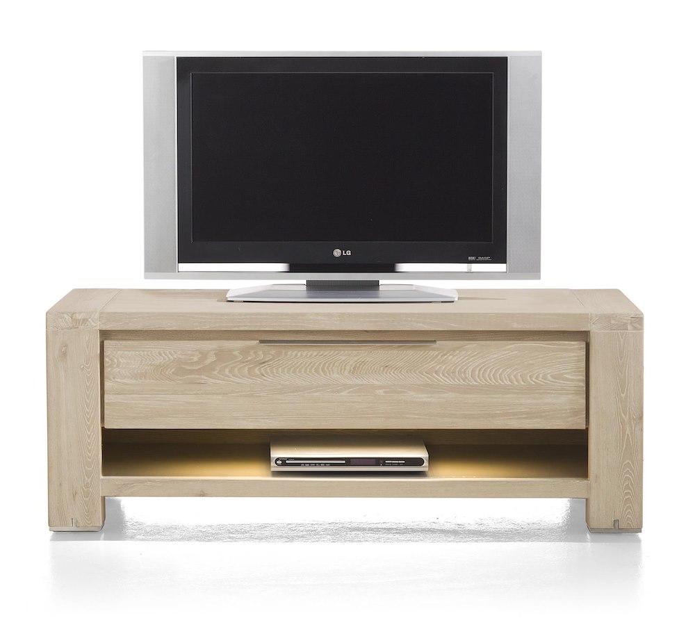 home cabinets buckley tv sideboard 1 drawer 1 niche 120 cm led. Black Bedroom Furniture Sets. Home Design Ideas