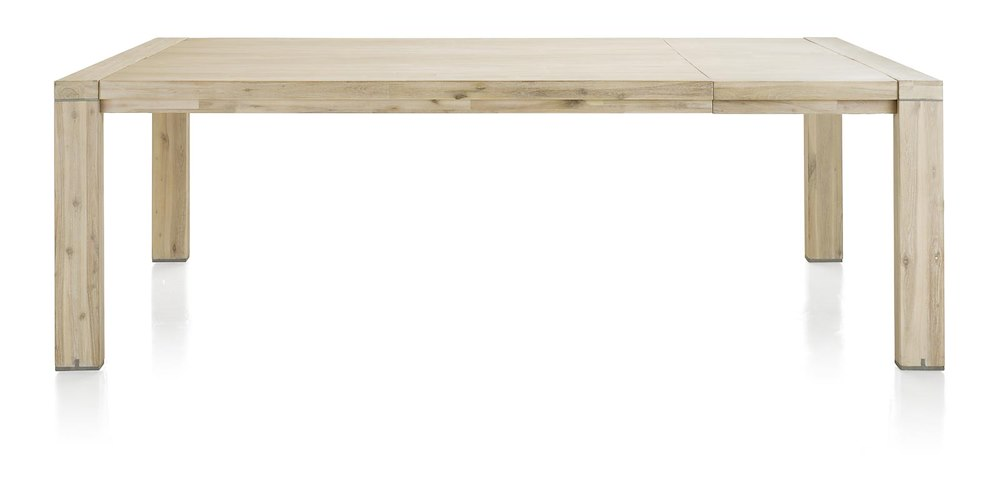 Table ovale 190 x 100 cm cape cod heth for Table 160 cm avec rallonge