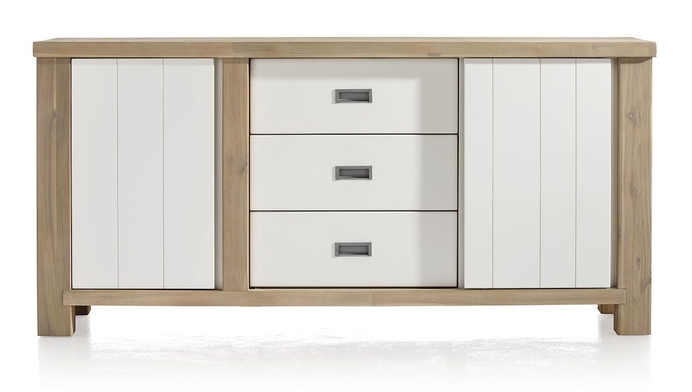 Istrana sideboard 1 door 1 sliding door 3 drawers for Sideboard 180 cm