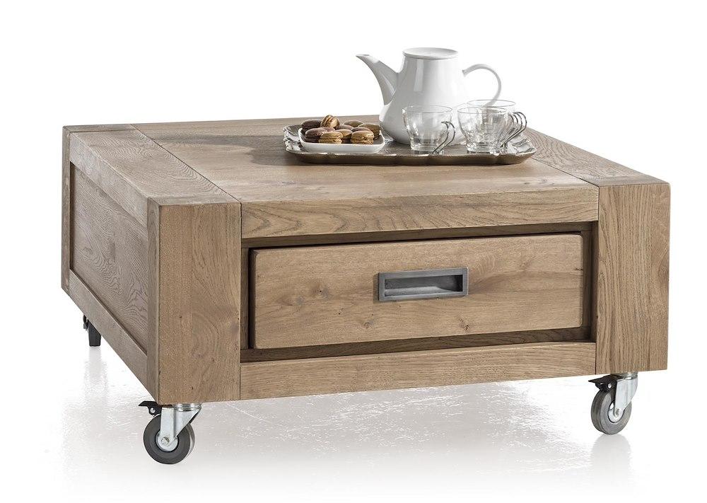 Santorini table basse 80 x 80 cm 1 tiroir t t - Table basse 80 x 80 ...
