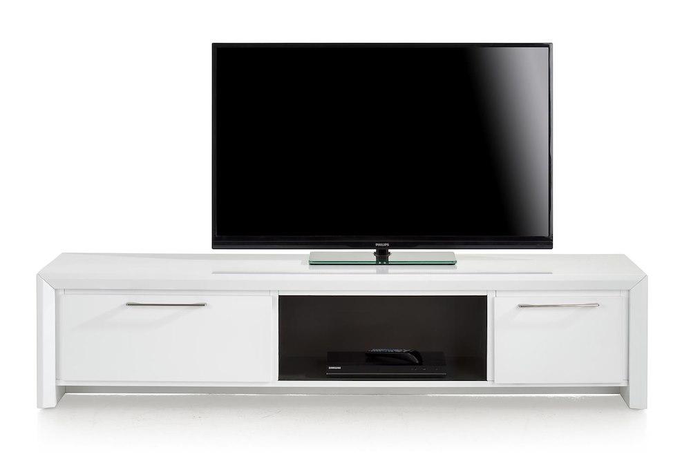 meuble tv kozani 1 tiroir 180cm heth. Black Bedroom Furniture Sets. Home Design Ideas