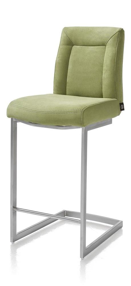 malene chaise bar inox pied traineau carre. Black Bedroom Furniture Sets. Home Design Ideas