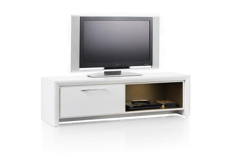 Kozani tv sideboard 1 drawer 1 niche 140 cm for Sideboard qr
