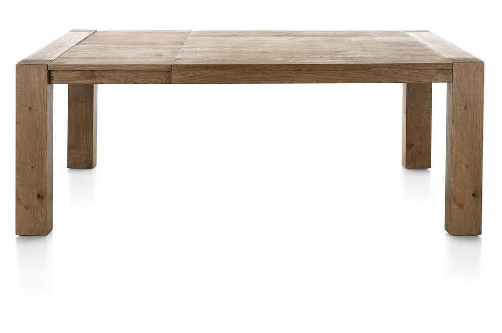 Santorini table a rallonge 160 45 x 140 cm for Table 160 cm avec rallonge