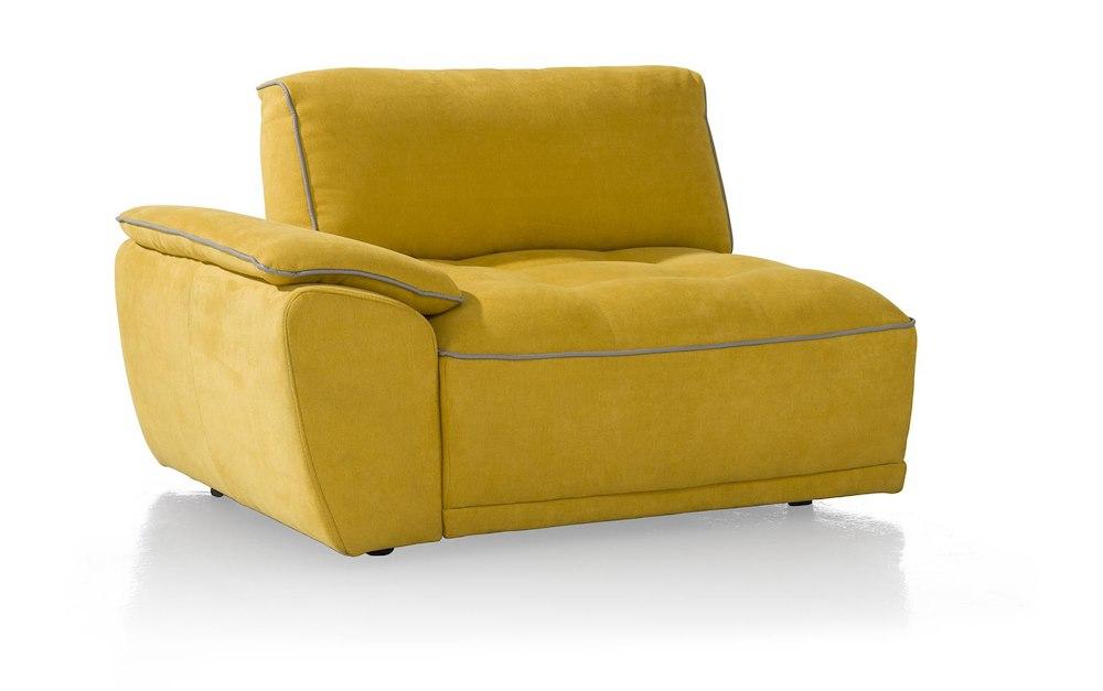 canap udine avec accoudoir gauche heth. Black Bedroom Furniture Sets. Home Design Ideas