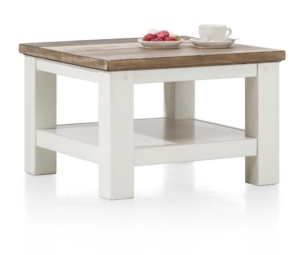 tibro table basse 55 x 55 cm pieds bois. Black Bedroom Furniture Sets. Home Design Ideas