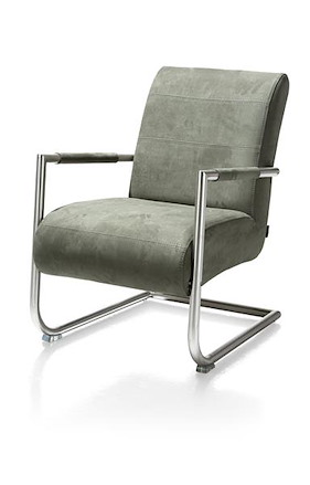 Angelica, Lounge Chair Stainless Steel