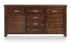 Cape Cod, Sideboard 2-doors + 6-drawers - 190 Cm
