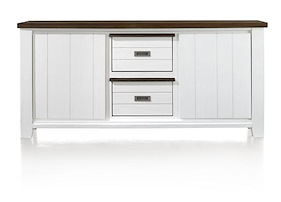 Velasco, Sideboard 2-doors + 2-baskets - 185 Cm (+ 23947)