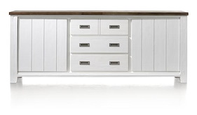 Velasco, Sideboard 2-doors + 3-drawers - 220 Cm