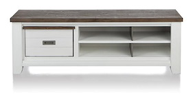Velasco, Tv-sideboard 1-basket + 4-niches - 160 Cm