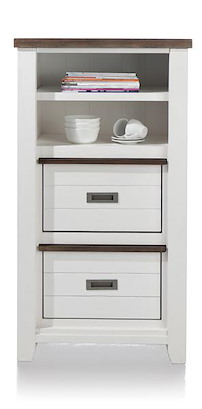 Velasco, Armoire 2-corbeilles + 2-niches