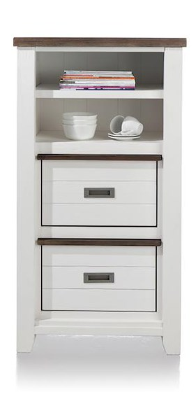 Velasco, Cabinet Small 2-baskets + 2-niches