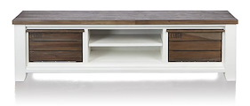 Velasco, Tv Sideboard 2-baskets + 2-niches - 190 Cm
