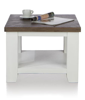 Velasco, Tea Table 60 X 60 Cm + 1-niche