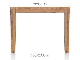 A La Carte, Table 200 X 100 Cm - Cor