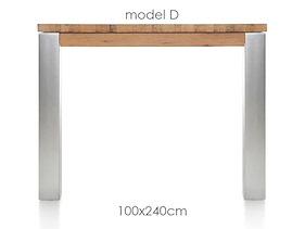 A La Carte, Table 240 X 100 Cm - Dirk