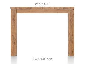 A La Carte, Table 140 X 140 Cm - Ben