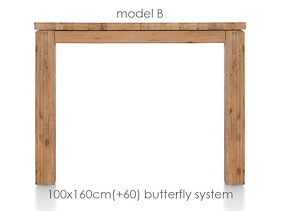 A La Carte, Table A Rallonge 160 (+ 60) X 100 Cm - Ben